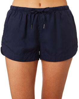 DARK BLUE WOMENS CLOTHING ALL ABOUT EVE SHORTS - 6423075NVY