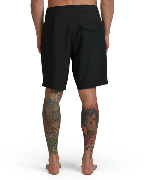 BLACK MENS CLOTHING RVCA BOARDSHORTS - RV-R393407-BLK