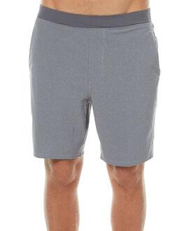 DARK HEATHER GREY MENS CLOTHING HURLEY SHORTS - MWS000536006G