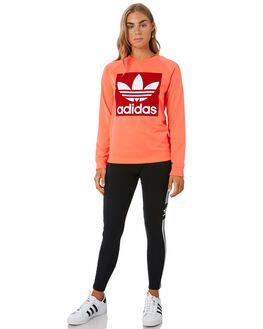 FLASH RED WOMENS CLOTHING ADIDAS ACTIVEWEAR - ED7548RED