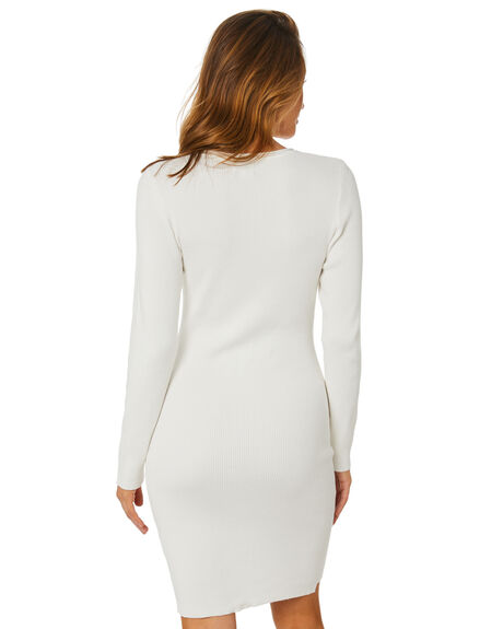 WHITE WOMENS CLOTHING SNDYS DRESSES - SEK062WHT