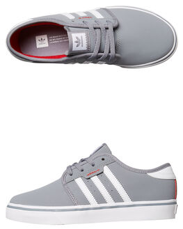 GREY WHITE KIDS BOYS ADIDAS ORIGINALS SNEAKERS - BY4077GRY