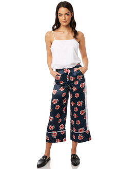 NAVY FLORAL WOMENS CLOTHING THE FIFTH LABEL PANTS - 40180304-3NAVYF