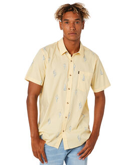 YELLOW MENS CLOTHING RIP CURL SHIRTS - CSHKH70010