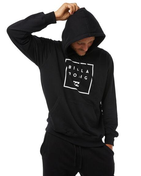 BLACK MENS CLOTHING BILLABONG JUMPERS - 9585619BLK