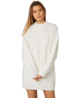 WARM WHITE WOMENS CLOTHING ZULU AND ZEPHYR DRESSES - ZZ2438WWHT