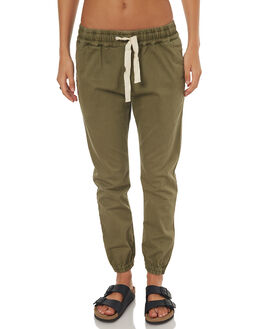 OLIVE WOMENS CLOTHING RIP CURL PANTS - GPACQ10058