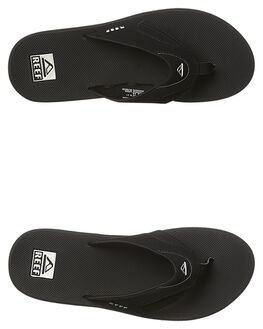 BLACK SILVER MENS FOOTWEAR REEF THONGS - 2026BLS