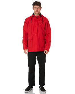 RED MENS CLOTHING GLOBE JACKETS - GB01837005RED