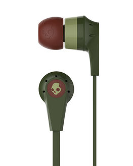 OLIVE BURGUNDY SAGE MENS ACCESSORIES SKULLCANDY AUDIO + CAMERAS - S2IKJY-529OLV