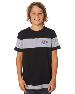 BLACK KIDS BOYS ST GOLIATH TOPS - 2420008BLK