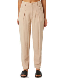 ALMOND WOMENS CLOTHING THE HIDDEN WAY PANTS - H8194192ALMND