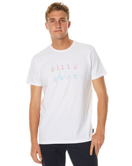 WHITE MENS CLOTHING BILLABONG TEES - 9571061WHT
