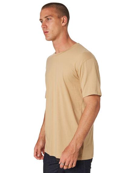 TAN MENS CLOTHING AS COLOUR TEES - 5001TAN
