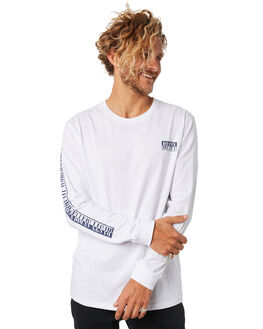 WHITE OUTLET MENS RUSTY TEES - TTM2011WHT