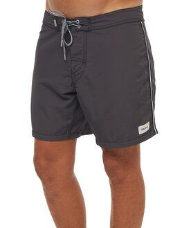 VINTAGE BLACK MENS CLOTHING RHYTHM BOARDSHORTS - JAN18M-TR05BLK