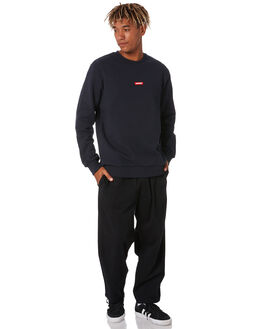NAVY MENS CLOTHING HUFFER JUMPERS - MCR02S2902NVY