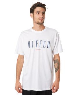 WHITE MENS CLOTHING HUFFER TEES - MTE94S40398WHT