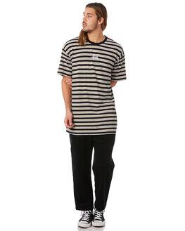 BLACK MENS CLOTHING STUSSY PANTS - ST082616BLK