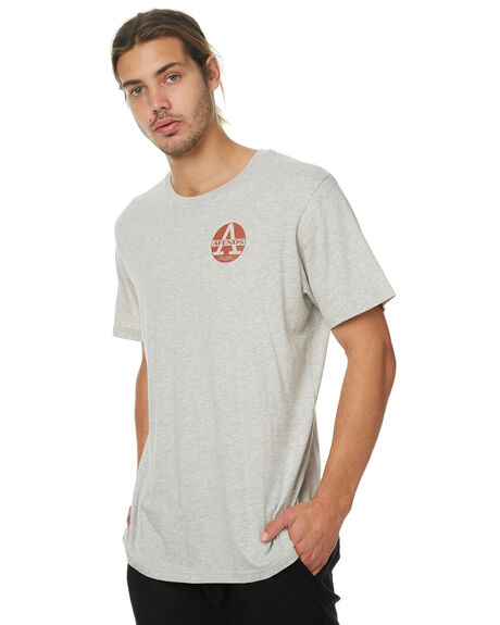 GREY MARLE MENS CLOTHING AFENDS TEES - 01-01-291GRYM
