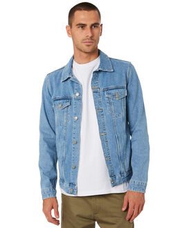 LT BLUE RIDGE STONE MENS CLOTHING DR DENIM JACKETS - 1911133I37LTBLU
