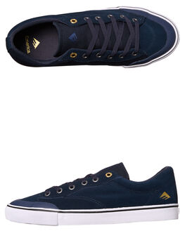 NAVY MENS FOOTWEAR EMERICA SKATE SHOES - 6101000102-401