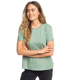 LILY PAD WOMENS CLOTHING ROXY TEES - ERJZT04692-GJN0