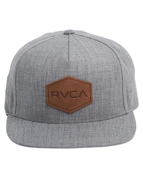 GREY MENS ACCESSORIES RVCA HEADWEAR - RV-R381562-GRY