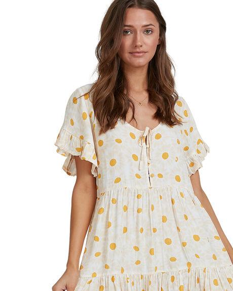 WHITE WOMENS CLOTHING BILLABONG DRESSES - 6513462-WHT