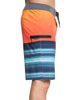TIGER ORANGE MENS CLOTHING QUIKSILVER BOARDSHORTS - EQYBS04110-NME6