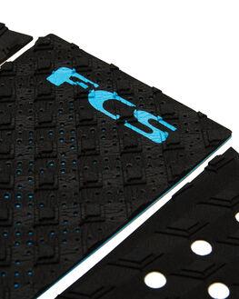 BLACK BLUE BOARDSPORTS SURF FCS TAILPADS - FT304BLKBL
