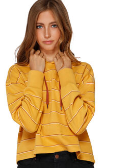 HONEY GOLD WOMENS CLOTHING BILLABONG JUMPERS - BB-6591734-HOG