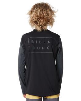 BLACK SURF RASHVESTS BILLABONG BOYS - 8772025BLK
