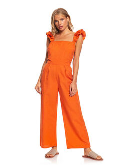 MECCA ORANGE WOMENS CLOTHING ROXY PLAYSUITS + OVERALLS - ERJWD03388-CMS0