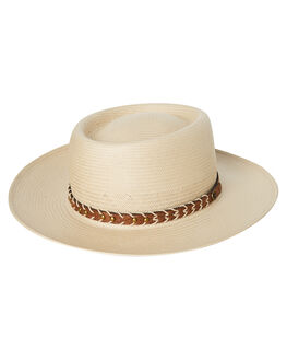 CREAM MENS ACCESSORIES FALLENBROKENSTREET HEADWEAR - SS18-08-01CRM