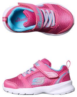 BUNGEE KIDS TODDLER GIRLS SKECHERS FOOTWEAR - 82099NNPTQ