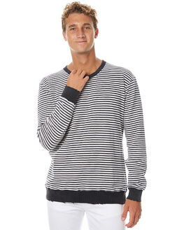 BLACK MENS CLOTHING THE PEOPLE VS JUMPERS - AW17070-BLK