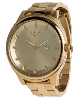 FULL SHINY GOLD WOMENS ACCESSORIES ROXY WATCHES - ERJWA03016YHM0