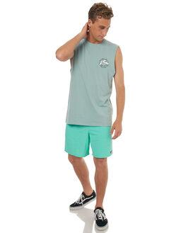 BALTIC SEA MENS CLOTHING RUSTY SINGLETS - MSM0219BAS
