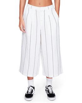 WHITE WOMENS CLOTHING ELEMENT PANTS - EL-294262-WHT
