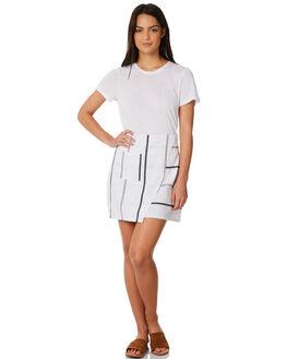 WHITE WOMENS CLOTHING ELWOOD SKIRTS - W84607WHT
