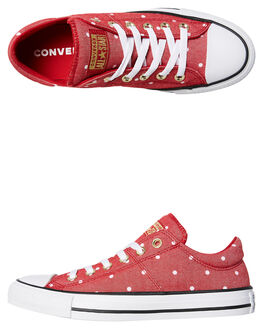 GYM RED WOMENS FOOTWEAR CONVERSE SNEAKERS - 560690RED