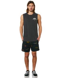 BLACK COMBO MENS CLOTHING VOLCOM SHORTS - A1011805BLC