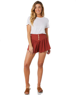TERRACOTTA WOMENS CLOTHING THE HIDDEN WAY SHORTS - H8184234TERRA