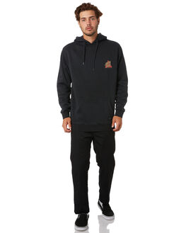 PIGMENT BLACK MENS CLOTHING SANTA CRUZ JUMPERS - SC-MFA0579PIGBLK