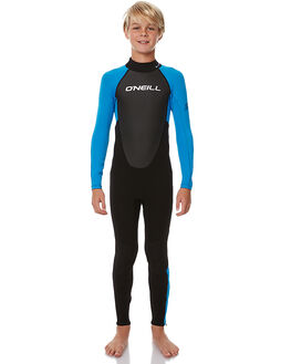 BLACK BRIGHT BLUE SURF WETSUITS O'NEILL STEAMERS - 3802OAW51