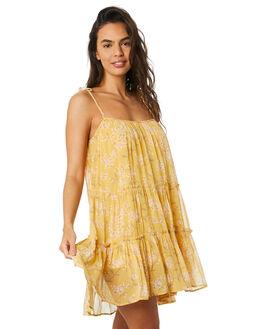 LEMON BLOSSOM WOMENS CLOTHING SAINT HELENA DRESSES - SHSP19303LMBL