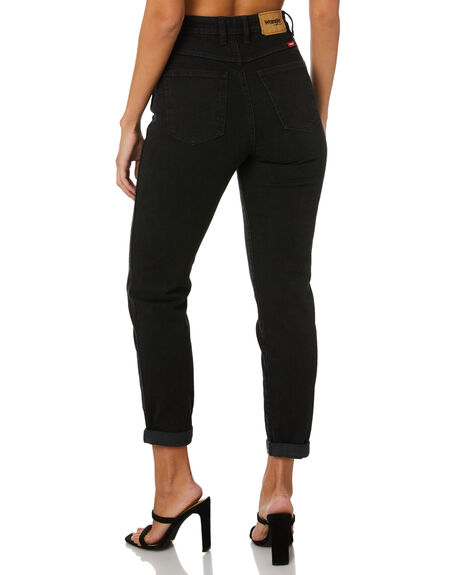 MIDNIGHT STONE WOMENS CLOTHING WRANGLER JEANS - W-951230-FE6