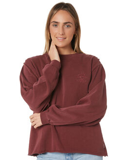 MAROON WOMENS CLOTHING RIP CURL JUMPERS - GFEAE94370