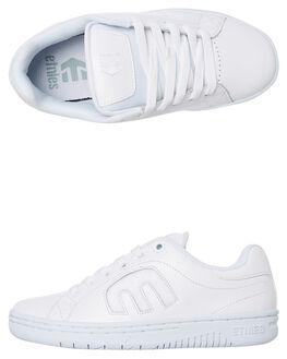 WHITE WOMENS FOOTWEAR ETNIES SNEAKERS - 4201000002100